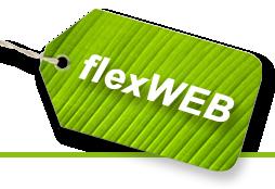 Willkommen bei flexWEB